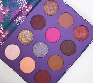 DHL livraison gratuite ColourPop élément de palette de maquillage surprise Marque fard à paupières palette fard à paupières cosmétiques cadeau de Noël pour les filles 12 couleurs