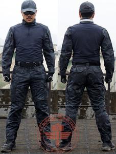 족장 방울뱀 카 모 전술 전술 멘 가락 세트 셔츠 바지 제복 Kryptek 스타일 전투 Gen2 G2 겉옷 잠옷 코트