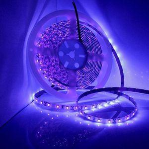 Super Bright 5M UV Ultravioletto Led Light Strip DC12V SMD3528 UV LED Tap Light String, Please Unboxing Primo sguardo Linus Tech Tips
