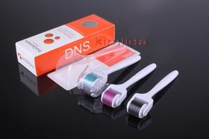 10pcs / lot DNS Derma Roller 540 aiguilles titane Dermaroller visage corps oeil derma système d'aiguilletage BIO Genesis