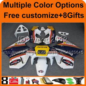 23colors + carenado de la motocicleta para HONDA 8Gifts BLANCO NSR250R MC18 1988-1989 NSR250R MC18 88-89 carenado de plástico ABS
