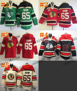 2016 Nouveau, Hommes Hoodie Chicago Blackhawks # 65 Andrew Shaw Homme Sweatshirt M-3XL Maillot De Hockey À Capuche ICE Winter Authentic