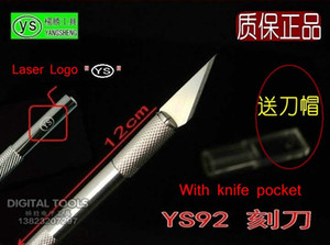 YS92 Aluminum alloy Tool Handle Metal Graver Art knife Pen knife Cutter knife Craft knife with Blade for Mobile phone Laptop etc. PCB Repair