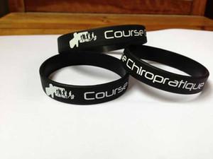 Regalo di promozione del braccialetto di colore 1 di logo di polsino del silicone dei bambini del silicone di stampa su ordinazione dei bambini