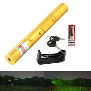 High Power 532nm 303 Type Laser pointer Green Beam Laser Pointer Lazer Projector Flashlight with Different Shell Colors(2 in 1 Starry Laser)