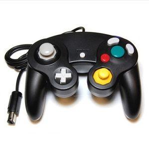 유선 게임 게임 컨트롤러 Gamepad 조이스틱 NGC 콘솔 GameCube Wii U 확장 케이블 터보 듀얼 쇼크 투명 색상