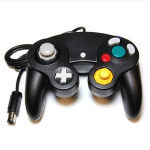NGC Wired Gaming Game Controller Joystick Gamepad para NGC Console Gamecube Wii U Cabo de Extensão Turbo Dualshock Cor Transparente