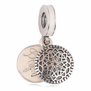 6 sortes 6pcs / lot 2018 nouveaux pendentifs S925 et PURE sliver pour breloques perles bricolage bracelets bijoux livraison gratuite haute qualtiy