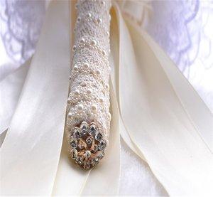 2015White 높은 클래스 인공 실크 꽃 신부 결혼식 파티 또는 중앙 장식 장식 공장 Outl에 대 한 결혼식 꽃 봉 오리 로즈