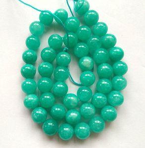 """الجمعة السوداء - حبلا كامل 16 """"Azmazon Jade Beads - Round ball"""
