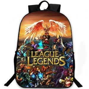 All star hero backpack Ролевая игра Lol daypack Школьный портфель League of Legends Спортивный рюкзак для отдыха Спортивный рюкзак