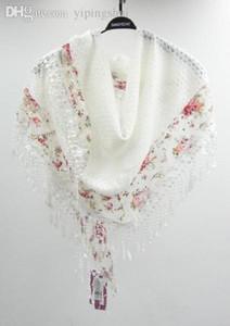 Wholesale-Fabrik Preis Großhandelspreis Dame Spitze Schal Frauen Mode Schals Frauen große Schal Freizeit Schals