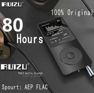 100% ursprünglicher RUIZU X02-MP3-Player mit 1,8-Zoll-Bildschirm kann 100 Stunden spielen, 8gb mit FM, E-Buch, Uhr, Daten
