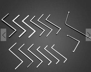 Напряжение гайковерт толкатель стержень вращающийся стержень инструменты отмычку набор инструментов
