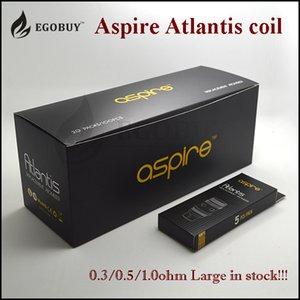 Otantik Aspire atlantis 2 bobinler sub ohm 0.3ohm. 5ohm 1.0ohm aspire atlantis evo 2 mega platin başlangıç kiti için BVC bobin