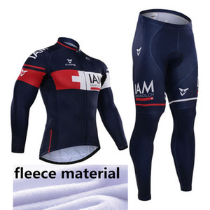 Winter 2015 Iam Team winter Fleece Ropa Ciclismo long sleeve Cycling jersey+(bib) Pants Set winter thermal fleece cycling clothing