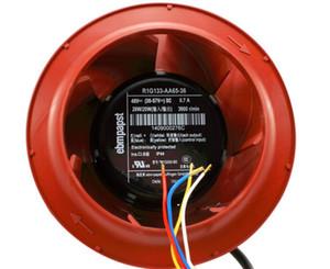 ebmPAPST R1G133-AA65-36 48 V 0.7A IP44 Hava arıtma fanı