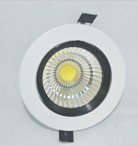 Fashional home lighting round cob led down lamp white color China manufacturer 7w 5w led downlight