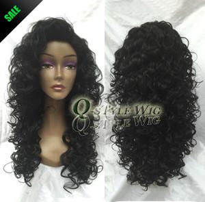 Perruques afro-américaine de fibres synthétiques courtes Afro kinky bouclés perruques de cheveux pour les femmes noires aucune dentelle avant pour la partie U perruques