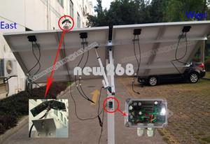 Termine o controlador de seguimento solar eletrônico da única linha central para o sistema do painel solar do picovolt do rv 100W