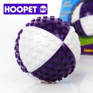Nouveau Design Hoopet Pet Jouet Jouant Jouet Chien Chien À Mâcher Chiot Fetch À Mâcher Tpr Ball Formation Formation Balle Élastique