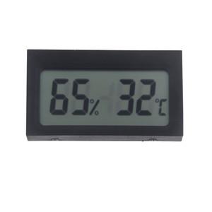Mini Portátil Digital LCD Indoor Medidor de Umidade Higrômetro Medidor Eletrônico Novo Estação Meteorológica Sem Fio Barômetro