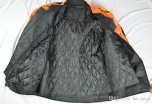 Marca-2019 nova alta qualidade motocicleta Corrida jaqueta roupas oxford moto jaqueta tamanho grande com tamanho equipamento de proteção M para XXXL