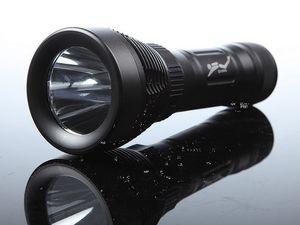 Neue Tauchen Taschenlampe Q2 LED blitzlicht CREE XML T6 Unterwasser LED Taschenlampe Wasserdichte Licht Lampe + ladegerät + 18650 batterie