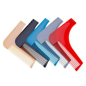 Men Gentleman Facial Hair Beard Shaper Guide Template Combs Styling Accessories Trim Shaping Tool Lines Symmetry