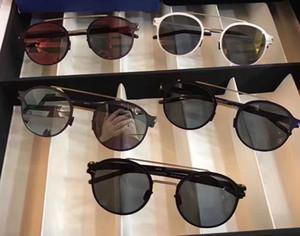 Vidalar olmadan new stil mykita ultralight çerçeve pilot çerçeve flap erkekler kadınlar almanya marka tatil güneşlenme crosby origbox ile güneş gözlüğü