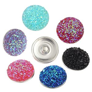 Noosa 7 styles Crystal Button 18mm Snap قابل للتبادل مجوهرات الزنجبيل Snap snap round butto multifred design Noosa Holland button