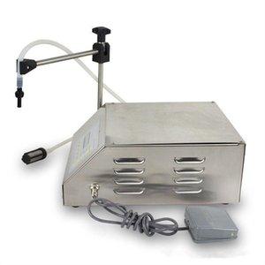 Machine de remplissage liquide pour pompe de contrôle numérique GFK-160 compacte, 2-3500ml très précisément panneau anglais / chinois 110V / 220V