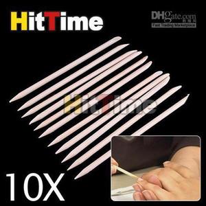 1000шт/лот ногтей оранжевой Вуд придерживайтесь кутикулы Pusher Remover в [3955/01|1К]
