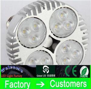 LED PAR30 40W 50W LED Spotlight Par 30 20 قاد لمبة مع مروحة للمجوهرات متجر الملابس معرض المسار السكك الحديدية الخفيفة متحف الإضاءة