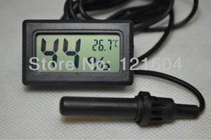 Sonda de temperatura higrômetro digital higrômetro termômetro para répteis, incubadoras