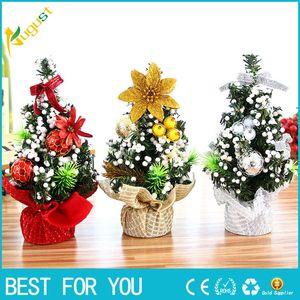 Belle 20 CM Merry Christmas Tree Chambre Décoration De Bureau Jouet Poupée Cadeau Décorations pour Bureau Maison