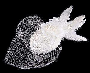 Em estoque Frete Grátis 2021 Nupcial Prata Tiaras Graciosa Pérolas Artesanais Pérolas Cristais Noiva Flores Pente Acessórios De Cabelo De Casamento