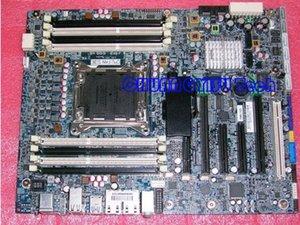 Доска промышленного оборудования для первоначально материнской платы рабочего места Z620,708614-001 618264-002,C602,s2011,память REG ECC, работает совершенное