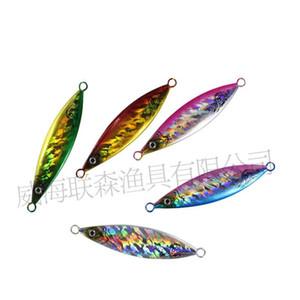 حار بيع 6 قطع بطيئة القفز إغراء الليزر الرصاص الأسماك إغراء 20 جرام -200 جرام المعادن تهزهز الطعوم أو الصيد رفرفة الرقصة ل المالحة