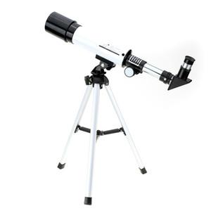 جودة عالية الفضاء الفلكي تلسكوب Visionking 360/50 ملليمتر أحادي المنكسر نطاق مع ترايبود المحمولة النظام $ 18no track