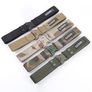 Black Hawk Safety Belt Tactical Plastic Outdoor Unisex All-match Security Belt
