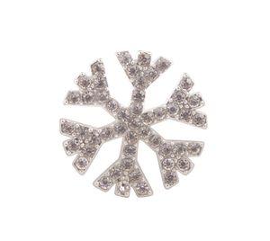 10PCS Limpar Rhinestone Snowflake Flatback Cabochon para o telefone Deco # 92163
