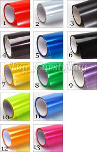 1 Rotolo / Lotto Faro tinta pellicola posteriore luci auto colorazione Luci di coda protezione tinta VINYL dimensioni 0.3x10m / rotolo 14 COLORE disponibile