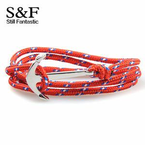 Wholesale-Bracelet Femme Men Jewelry Anchor Pulseras Friendship Bracelets For Women Pulseira Feminina Joyeria Bangles Homme Mens 2015