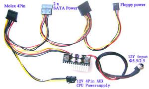 180 W 12 V DC ITX PC ATX PSU Supplie mini Araba Oto Mirco Pico ATOM HTPC 1U rafa PC ATX 24Pin anahtarı güç kaynağı