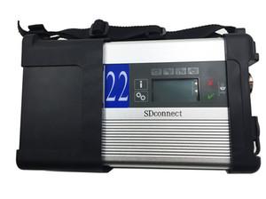 Лучшее качество MB SD Connect компактный c5 MB star SD Star C5 мультиплексор диагностический инструмент с функцией wifi без HDD