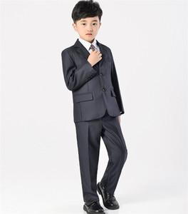 حار بيع الصبي الدعاوى أزياء الأولاد الزفاف البدلات الرسمية مناسبة الأولاد البدلات الرسمية ثلاث قطع البدلات الرسمية (سترة + سروال + سترة)