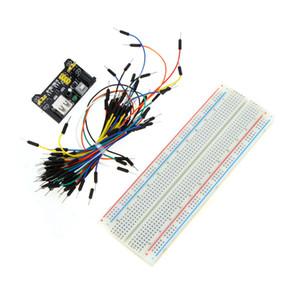 Professionelle DIY Kit Solderless Breadboard Jumper Draht Bundle Stromversorgungsmodul für Arduino bestellen $ 18no Spur