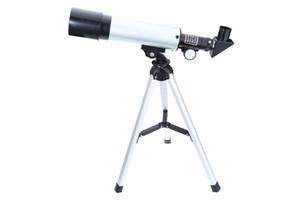 60x 18x 1.5x 90x 27x تلسكوب الفلكية عدسة المناظر الطبيعية تلسكوب واحد أنبوب مع 2 العدسات ترايبود للمبتدئين 2017