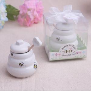 جديد وصول الطراز الأوروبي فاخر السيراميك وعاء العسل حفل زفاف صالح هدايا للشحن مجانية للضيوف
